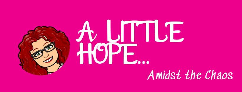A Little Hope…